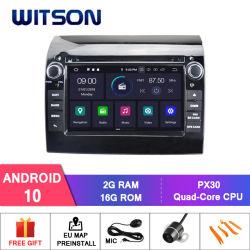 Четырехъядерные процессоры Witson Android 10 DVD GPS для FIAT Ducato Bluetooth OBD2 через аудиосистему автомобиля