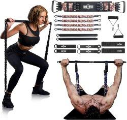 تمرين الجسم الكامل المخصص تدريب العضلات نادي رياضي Latex Home اضغط على شريط المقاومة