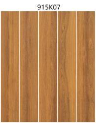 أرضية داخلية غير منزلقة من خشب البورسلين ذو تجانب الخشب وتile (تجانب) الحائط