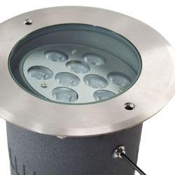 스퀘어 파크 실외 IP65 지하 조명 랜지갑 접지 플러그 인 UcDor Inground LED 스팟 조명
