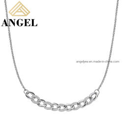 Jóias de 925 Sterling Silver jóias de alta qualidade, Colar elegante Wholesales Fábrica jóias para as mulheres da moda