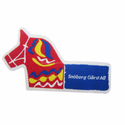 大型カスタムロゴ入りバルクライオンタオル粘着性ジウジイツのシチュー 刺繍のパッチ金の小型自転車犬のドラゴン空手の憲法鉄 ホッケーの棒 (37)