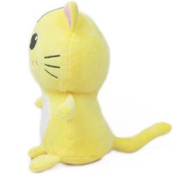 모피 귀여운 창조적인 연약한 채워진 견면 벨벳 분홍색 동물이 홈에 의하여 선물에게 고양이 장난감 했다