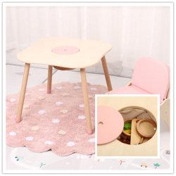 Jeu de table de dessin pour enfants avec des bacs de rangement de jouets bambins jouer Desk