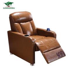 안마를 가진 최신 디자인 영화관 의자 4D, 5D 극장 의자 및 컵 홀더