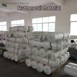 Largement utilisé mince tapis en caoutchouc noir anti-patinage des rouleaux de feuille de caoutchouc naturel doux