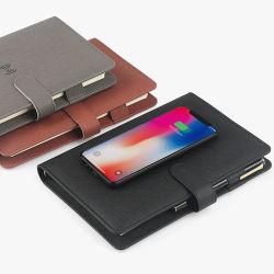 Рекламные подарок для бизнеса и фестивалей 2021 новый дизайн беспроводной зарядки ноутбук с встроенным источником банка