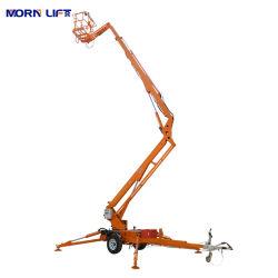 10m 12m 14m 16m 18m 20m 22m rimorchio/rimorchio idraulico mobile Dietro articolato/articolato picker aereo/braccio di lavoro uomo sollevamento Spider In vendita