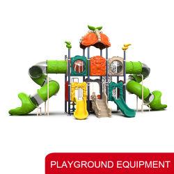 De nieuwe Openlucht Plastic Apparatuur van het Pretpark van de Speelplaats van de Dia van het Spel van Kinderen Voor Jonge geitjes