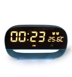 Multifunctionele LEIDENE Digitale Wekker met De Klok van de Lijst van de Wekker