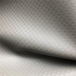 Surface lisse Cuir PVC en similicuir Feuille de papeterie de tissu tissu pour les chaussures en cuir de vinyle