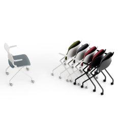 会議用の現代中国工場訓練会議スタッカブルオフィスチェア 部屋