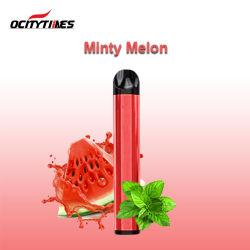Haute qualité Ocitytimes 650mAh Nic de 5 % de sel Vape E Cigaretee jetables