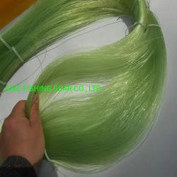 Il materiale usato del nylon 6/66 del Basf della Germania, mantiene l'alta concentrazione della rottura, vendita calda nel servizio. Riga di pesca verde