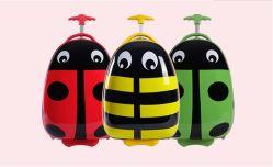 도매 OEM 16인치 사랑스러운 카툰 디자인 ABS 하드 쉘 어린이 여행 가방 어린이 휴대용 트롤리 가방