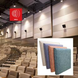 装飾的なファブリックによって包まれるカスタム音響の壁パネル