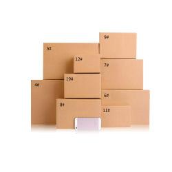 Fabrik passte Größen-Drucken-Firmenzeichenpreiswerter Brown-Transport-sendenden bewegenden verpackenden gewölbter große Pappverschiffen-Karton-Papierkasten an