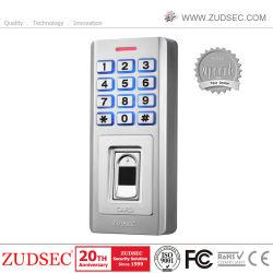 Teclado impermeable Control biométrico de acceso a huellas digitales de puerta RFID