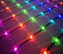 装飾コントローラが付いている純ライトRGB LED格子スクリーンランプ