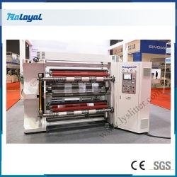 Automatische film/sticker papier slitting rewinding machine met frictieschacht