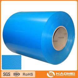 لفة معدنية من لفائف الألومنيوم المصقولة الملونة 1050 3003 3004 للديكور