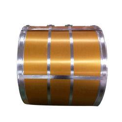 Material do painel de revestimentos betumados acabados afp Spangle Galvalume regular da bobina de aço