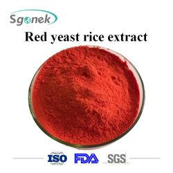 Grau alimentício Red levedura extrato de arroz reduz colesterol arroz vermelho de extrato de levedura matérias-primas levedura Vermelha extrato de arroz