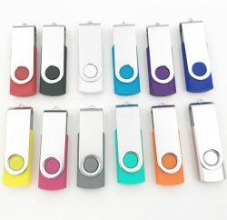 Logo personalizzato 2 in 1 Type-C ruota i dispositivi di archiviazione della memoria Unità flash USB