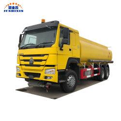 Barato China óleo leve Veículo 3000 galões 20/10/30cbm do tanque de água de carga do caminhão 10000L-25000L Sinotruk HOWO 6*4 Gasolina Diesel Reabastecimento do caminhão-tanque de transporte de óleo