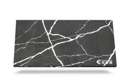 Мода Quartz производителей мрамором с нетерпением Man-Made Calacatta кварцевого камня слои REST для столешницами