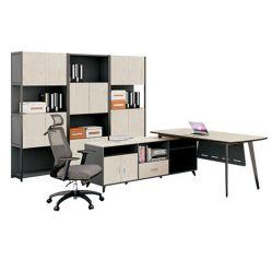 2020人のオルガナイザーの現代木作業L形の机のオフィス