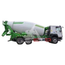 De Vrachtwagen HOWO zette Pomp 10cbm van de Concrete Mixer 12cbm op Vrachtwagens voor Verkoop