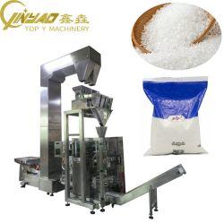 Automático 1kg de azúcar xilitol gránulo de sal del Sistema de Embalaje Doypack rentable de la bolsa con cremallera Máquina de embalaje
