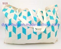 方法デザイン印刷の屋外の女性トートバックは袋を運ぶ
