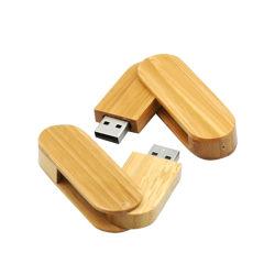 昇進の高速のギフト2/4/8/16/32GBの旋回装置木USB 2.0/3.0のフラッシュ駆動機構