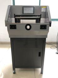 Vorderer des Aktualisierungsvorgangs-7 ' Zoll 19-1/4 Screen-klassischer heißer Verkaufs-Papierschneidemaschine-max. der Schnitthöhe-490mm (FN-E490T)