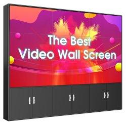 Sin cerco bisel 46pulgadas LCD de 3,5 mm LED paneles de visualización de la pared de video de TV de pantalla de equipo Publicidad precios interiores libres