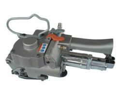 소형 반자동 카톤 박스 케이스 공압 공구 핸드헬드 PP PET 스트래핑 머신