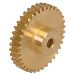 personalizado Precision 32 64 Módulo 2 dente de acionamento do motor DC pequeno Bronze Latão Mini Micro Miniatura para engrenagem cilíndrica de Impressora 3D