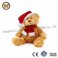 어린 아이의 부드러운 푹신한 테디 베어 크리스마스 선물 어린이 박제 동물 장난감
