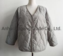 Дамы стеганых матрасов с ромбовидным орнаментом Losse Padding куртка нанесите на