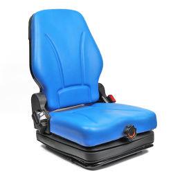 Deluxe respaldo económico plegable regulable en la construcción de camiones volquete Carretilla elevadora con la suspensión del asiento y cinturón de seguridad retráctil