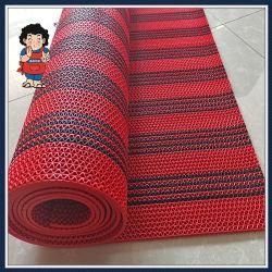 PVC S/Korea S/Anti 미끄러짐 또는 비 미끄러짐 또는 수영풀 또는 마루 또는 차 또는 문 또는 목욕탕 또는 줄무늬 매트 양탄자