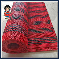 PVC S/Korea S/Anti Slip/Non Slip/Swimming Pool/أرضية/باب/حمام/Stripe Mat Carpet