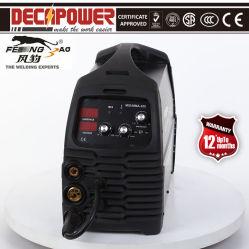 Для сварки плавящимися 160A Gasless 220V инвертор MIG/ММА сварочный аппарат не газовой сварки металлическим плавящимся электродом в