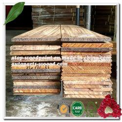 Viu folheado de madeira 3mm Toplayer Lamellas de carvalho branco para o piso de madeira da engenharia de 15mm