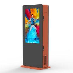 34-polegadas à prova de água e piscina de Chão digital LCD publicidade com retroiluminação LED