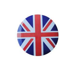 شارة الزر المطبوع لشعار العلامة المخصصة بسعر الجملة