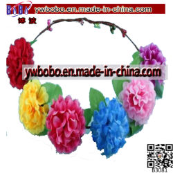 Alça de flores artificiais Headdress Floral Hairband casamento (B3081)
