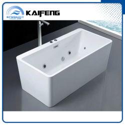 Vasca da bagno indipendente acrilica poco costosa di massaggio del mulinello (KF-772K-C)
